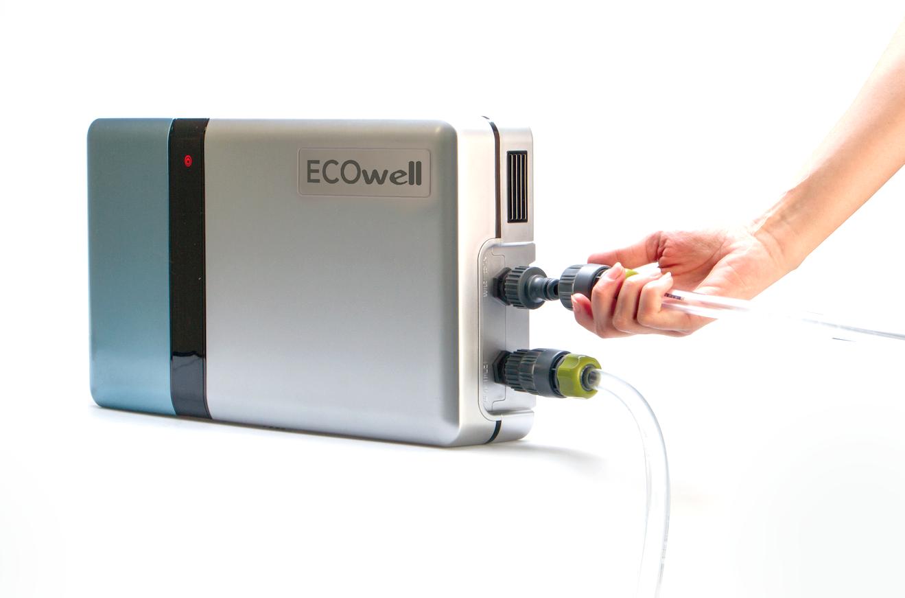 ECOWELL è un sistema sorprendente ed efficace per fare il bucato in acqua fredda e senza detersivo.